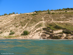 Empire Bluffs (JamesEyeViewPhotography) Tags: summer greatlakes lake michigan water beach sky landscape sand dunes lakemichigan empire bluffs sleepingbeardunes nationallakeshore northernmichigan jameseyeviewphotography