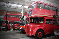 Buses at St Helens Transport Museum (big_jeff_leo) Tags: transport sthelens english england vehicle museum bus