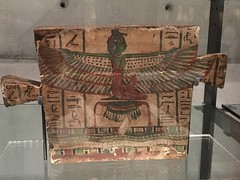 Revamped Ancient Civilisations gallery (SandyEm) Tags: 20september2017 ancientcivilisations aucklandwarmemorialmuseum aucklandmuseum museumgallery coffinend hieroglyphics egypt