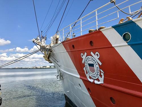bow of the USCGC Eagle