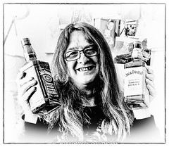 Day 263 (lizzieisdizzy) Tags: blackandwhite blackwhite black whiteandblack white whiteblack monochrome mono monotone monochromatic male man chromatic celebration birthday happy smiling alcohol drink glass bottle bottles frame framed vignette smile gasses smiley