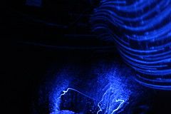 Blur Motion (kartmaster335) Tags: blue light planetarium