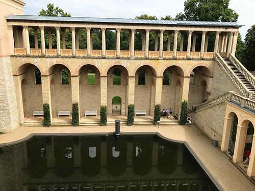 Belvedere reflecting pool