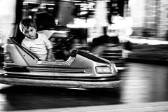 fête de Nedde (françoispeyne) Tags: enfrance limousin millevaches nedde village noiretblanc manège fête enfant auto