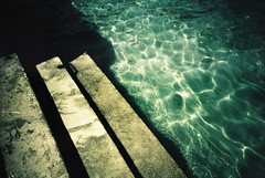 Lenno (cranjam) Tags: lomo lomography lca film xpro kodak elitechrome100 lakecomo lario largodicomo lenno italy italia steps gradini lidodilenno lake lago