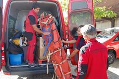 Bomberos de la Comunidad parten hacia la sima que causó el terremoto de Lorca (Comunidad de Madrid) Tags: comunidaddemadrid consejeríadepresidenciajusticiayportavocíadelgobierno grupoespecialderescateenaltura gera cuerpodebomberosdelacomunidaddemadrid bomberos carlosnovillo