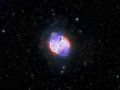 Dumbbell Nebula (M27) in Hα/SII/OIII + RGB (Carballada) Tags: astrophotography astronomy deep space astro celestron zwo as1600mmc skywatcher ts sky qhy qhy5iii174 narrowband astrometrydotnet:id=nova2232011 astrometrydotnet:status=solved
