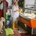 Dog Watching Butcher, Piedecuesta Colombia