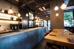 _DSC2040 (fdpdesign) Tags: pizzamaria pizzeria genova viacecchi foce italia italy design nikon d800 d200 furniture shopdesign industrial lampade arredo arredamento legno ferro abete tavoli sedie locali
