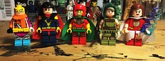 Further Hits and Misses (Lord Allo) Tags: lego dc justice league batman young marvel family apokalypse spellbinder big barda mister mr miracle artemis mary