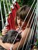 Hearty Sympathy (swetlanahasenjäger) Tags: natureandpeopleinnature littledogmaggiewithhergirlfriend contactgroups magicmomentsinyourlifelevel3 linesandstripes saturdayoctober14