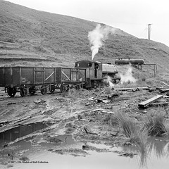 c.1968 - Marine Colliery, Cwm, South Wales. (53A Models) Tags: nationalcoalboard ncb peckett 060st menelause p18891935 industrial steam freight marinecolliery cwm southwales train railway locomotive railroad