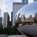 Chicago: Reflected in the Cloud Gate (2)