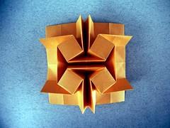 Rotated Cubes - Ilan Garibi (Rui.Roda) Tags: origami papiroflexia papierfalten tessellation rotated cubes ilan garibi