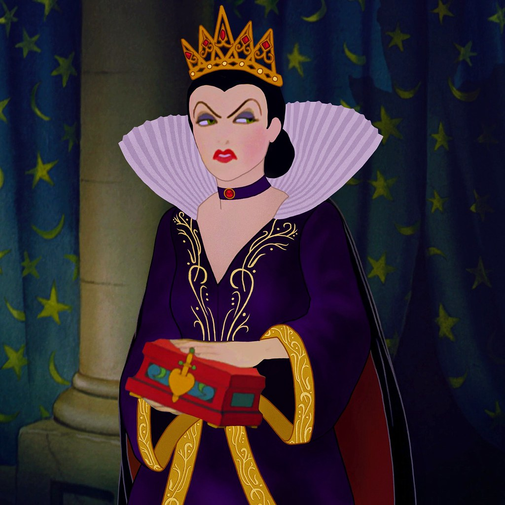 The world 39 s best photos of doll and princess flickr hive - Evil queen disney ...