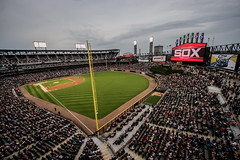 Chicago White Sox - Guaranteed Rate Field (Comiskey Park) (Joshua Mellin) Tags: joshuamellin photographer joshua mellin photo journalist photos pictures pics best photography bestphotographer joshuamellincom blogger travel writer whitesox chicagowhitesox sox whitesoxbaseball baseball stadium mlb 2017 ford ad advertising si sportsillustrated featured magazine social media foul pole foulpole influencer verified twitter instagram socialmedia city chicago wwwjoshuamellincom joshmellin