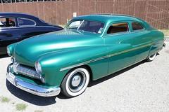 Merc FatBoy Customs (bballchico) Tags: mercury merc fatboy custom chopped 1949 westcoastkustomscruisinnationals carshow jorgedelatorre