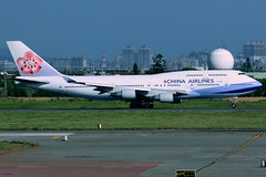 China Airlines   Boeing 747-400   B-18207   Taipei Taoyuan (Dennis HKG) Tags: chinaailrines cal ci dynasty boeing 747 747400 boeing747 boeing747400 aircraft airplane airport plane planespotting taiwan taipei taoyuan rctp tpe b18207 skyteam canon 7d 100400