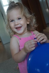 (/lulu) Tags: child kid home birthday happy beautiful girl portrait