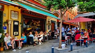 Sevilla, en el barrio de Santa Cruz