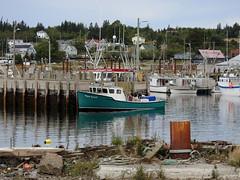 The Aqua Smolt fishing boat in the harbour at North Head on Grand Manan Island (Bay of Fundy), New Brunswick (Ullysses) Tags: aquasmolt fishingboat grandmananisland northhead harbour newbrunswick canada summer été sea mer ocean