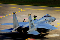 (MilitaryPhotographer) Tags: siauliai lithuania libertywing 493rdfs 493rdefs grimreapers balticairpolice nato bap 48thfighterwing f15c eagle f15ceagle bap2017 lt