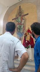 Fiesta de San Cristobal en el barrio de San Camilo