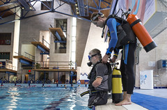 0726_10a (KnyazevDA) Tags: disability disabled diver diving amputee underwater wheelchair