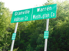 The County Line (jimmywayne) Tags: vermont countyline countysign addisoncounty washingtoncounty