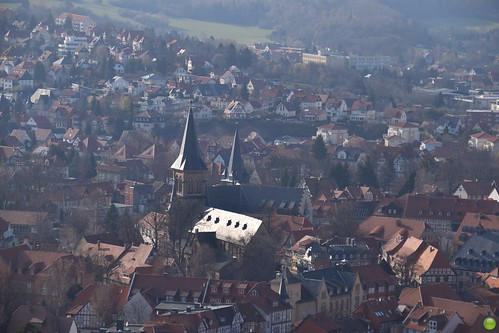 Wernigerode as seen from the castle