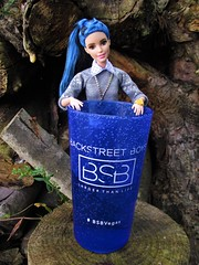 Showing her BSB pride (flores272) Tags: barbiefashionistas doll27sweetheartstripes barbiedoll27 sweetheartstripes blackandbluehair curvydoll curvybarbie doll27 barbie barbiedoll barbieclothing bsb2017tour bsb bsbtour backstreetboys backstreetboyslasvegastour blackandbluebarbiehair