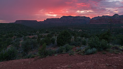 Pink Over Sedona (Ken Krach Photography) Tags: sedonaarizona