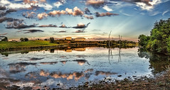 IMG_4784-Ptzl1scTBbLGER (ultravivid imaging) Tags: ultravividimaging ultra vivid imaging ultravivid colorful canon canon5dmk2 clouds sunsetclouds scenic summer sky landscape lateafternoon water reflections pennsylvania pa panoramic rural