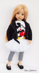 This time Mickey Mouse :-) (Maria Kłopotowska) Tags: mickey mouse disney eff effner littledarling intarsia ramones jacket knit knitted cap