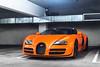 Orange Bugatti Veyron Grand Sport Vitesse (Axion23) Tags: orange bugatti veyron grand sport vitesse car week pebble beach 2016
