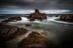 Liquid Isolation (Augmented Reality Images (Getty Contributor)) Tags: bigstopper canon clouds coastline colours findochty landscape leefilters longexposure morayfirth rocks scotland seaweed water waves