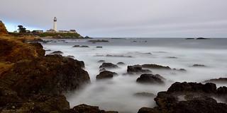 Cloudy Pacific Coast