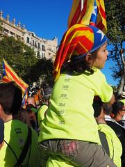 Diada Nacional de Catalunya (tgrauros) Tags: diadanacionaldecatalunya catalunya catalonia catalogne 11s2017 diadadelonzedesetembre 11desetembrede2017 diadadelsí