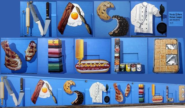 Nashville Food mural