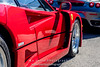 Red-Ferrari-F40-sports-car-in-sydney-by-la-lente-photography-vents (Paul D'Ambra - Australia) Tags: car red ferrari sportscar redsportscar redferrari vehicle motorvehicle redf40