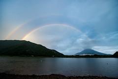 Lake Shoji double rainbow (shinichiro*) Tags: 南都留郡 山梨県 日本 jp 2017 crazyshin nikond4s afsnikkor1424mmf28ged august summer yamanashi japan fuji rainbow lakeshoji 富士 虹 精進湖 doublerainbow 20170808ds46644 36482644204 201711みくりや 2260924 201801gettyuploadesp