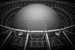 Dockyard (marco ferrarin) Tags: atrium telecomcenter tokyo spaceshipearth building blackandwhite night テレコムセンター structure repair imagination 青梅 waterfront 東京 odaiba お台場 indoor japan