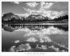 Afternoon Clouds, Reflections (G Dan Mitchell) Tags: pioneer basin johnmuir wilderness mud lake mono recesses clouds sky reflection water mountains blackandwhite monochrome nature landscape california usa north america sierra nevada