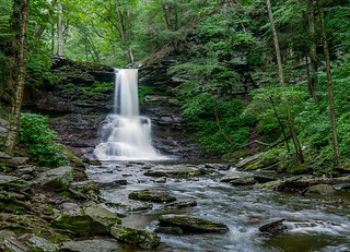 Sheldon Reynolds Falls in Ricketts Glen