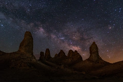Guardians of the Galaxy (Darkness of Light) Tags: trona pinnacles tufa eastern sierra death valley milkyway milky way ridgecrest california mojave night zeiss batis sony a7r2 star stars sun moon solar lunar eclipse perseid desert