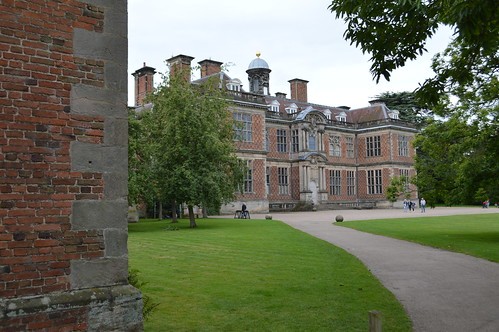 Sudbury Hall from courtyard