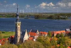 Veere Panorama (hapulcu) Tags: paysbas paisbajos nederland netherlands veere zeeland spring primavera printemps