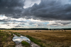 Gettin' Cloudy (Slav.Burn) Tags: clouds countryside poland august