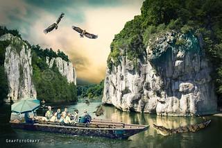 Newsflash: Crocodile attack in Danube Gorge (am Donaudurchbruch)!