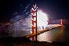 Big Guns (Thomas Hawk) Tags: 75thbirthdaygoldengatebridge america batteryspencer california goldengatebridge marin marinheadlands sanfrancisco usa unitedstates unitedstatesofamerica bridge fireworks millvalley us fav10 fav25 fav50 fav100